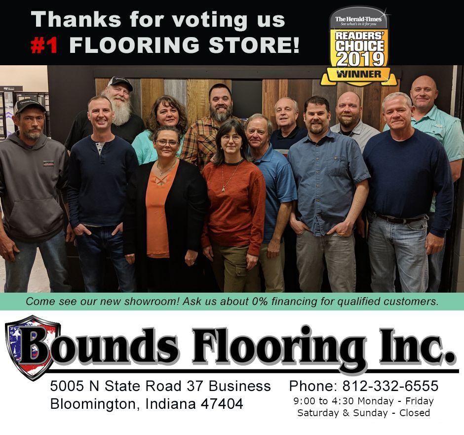 The Bounds Flooring Team - 2019 Best of Btown Photo
