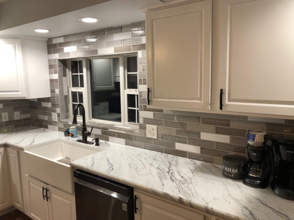 - Beautiful Tile Backsplash Installation In Bloomington, Indiana