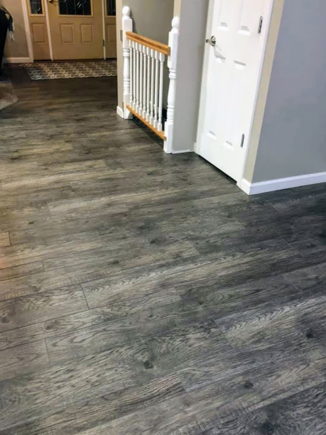 A Happy Customer Chooses Vinyl Plank Flooring Bounds Flooring Inc