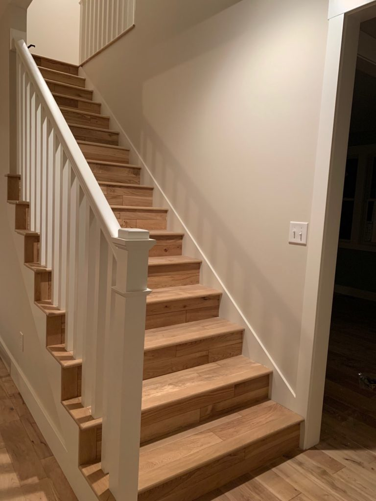Bounds Flooring - Wood Flooring on Stairs